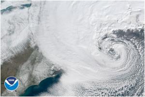 NOAA GOES-16 Weather Satellite