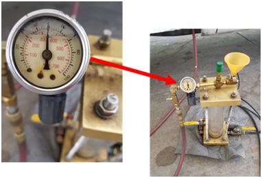 Gas Station Fuel Gauge