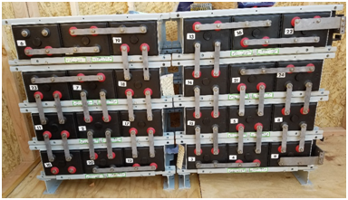 Absorbed Glass Mat (AGM) Battery