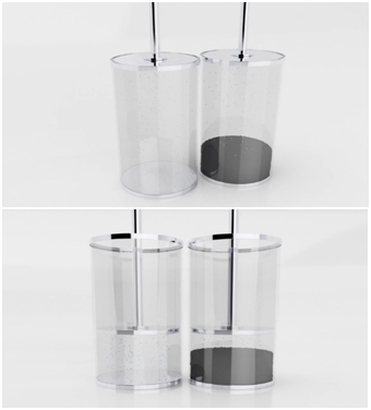 A cup full of activated carbon | Source: Carbon Air Limited