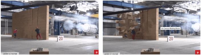 Popular Mechanics Air Cannon Demo
